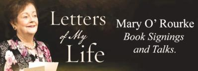 Mary O Rourke Letters of My Life Autumn Signings and Talks