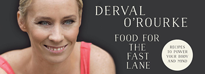 Win A Copy Of 'Food For the Fast Lane' Signed by Derval O'Rourke