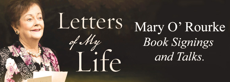 Mary O'Rourke 'Letters of My Life' Autumn Signings and Talks