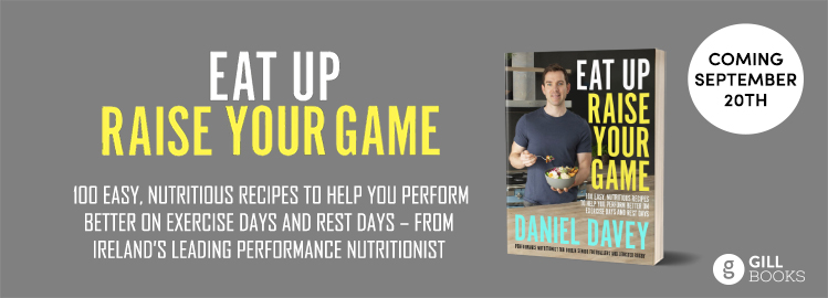 Performance Nutritionist to Ireland's Elite Sports Stars to Publish Cookbook Sharing his Recipes for Achieving Your Personal Best
