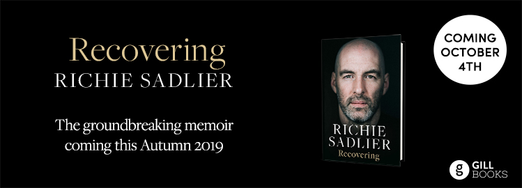 Richie Sadlier's groundbreaking memoir Recovering is coming this October