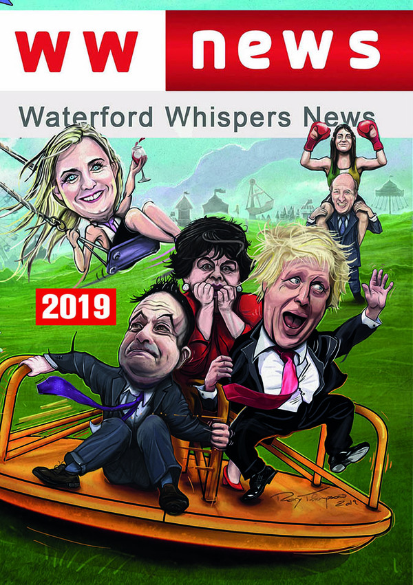 Gill Books Humour Waterford Whispers News 2019
